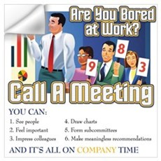 Call A Meeting Wall Decal